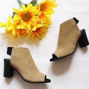 NY&C open toed heels